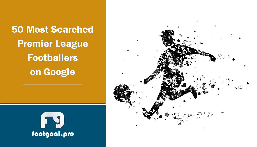 Most Searched Premier League Footballers on Google