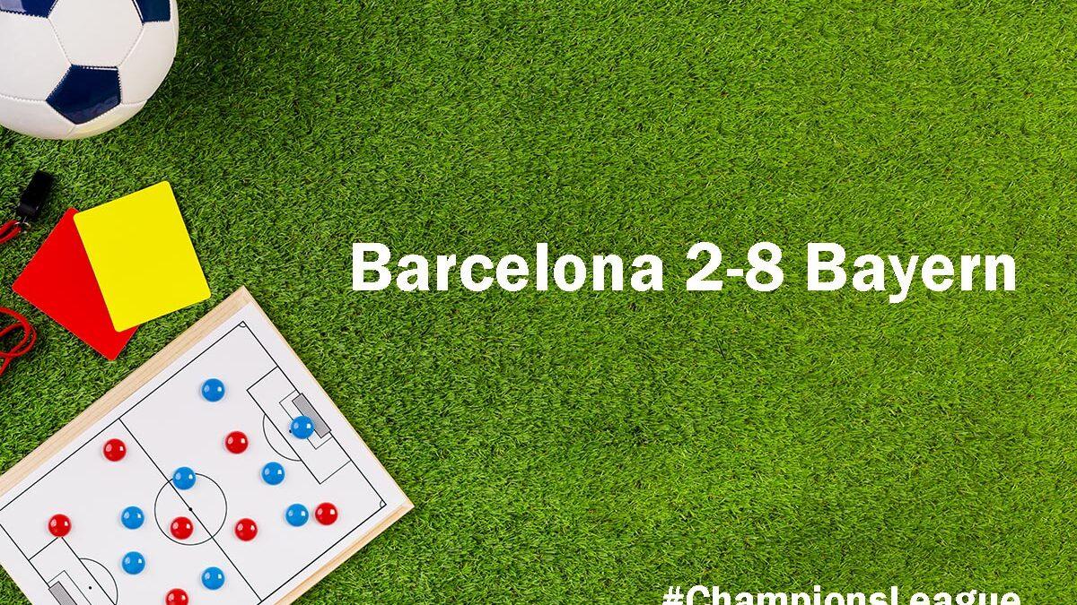 Barcelona 2-8 Bayern: Setien Sacked, Messi to Leave?