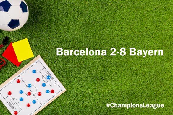 Barcelona 2-8 Bayern
