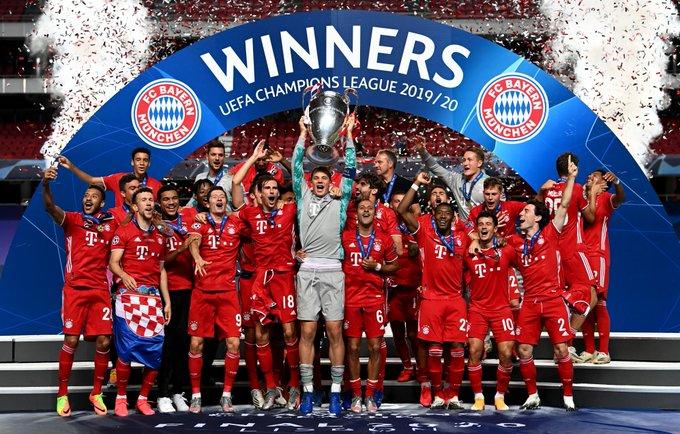 Bayern Munich 6-Time Champions League Winners