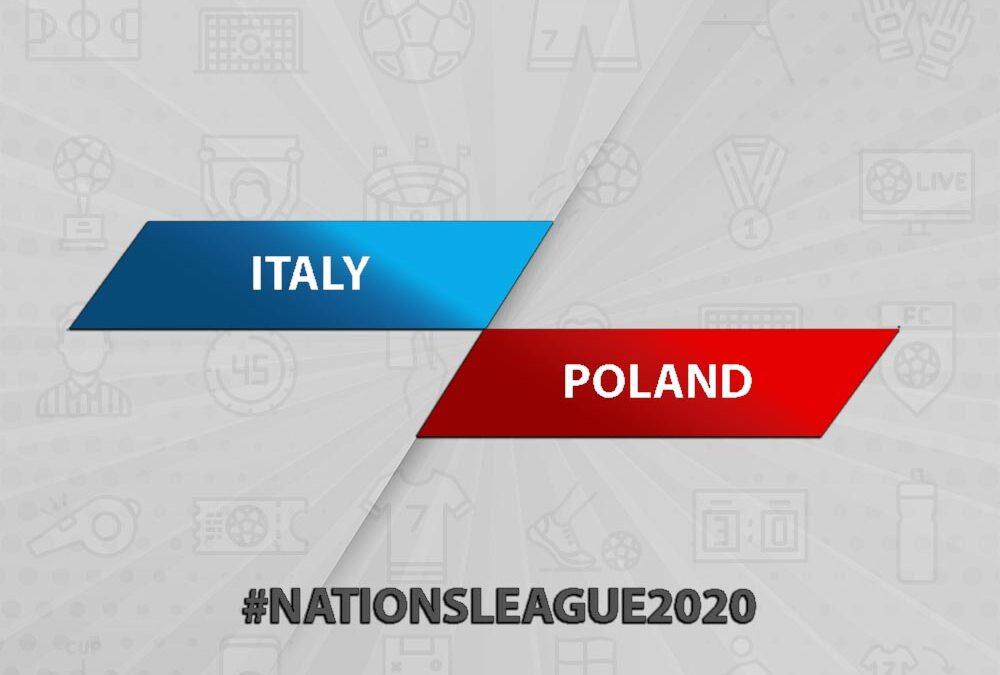 Italy vs Poland: Nations League 2020-2021
