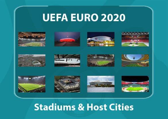 EURO 2020 Stadiums