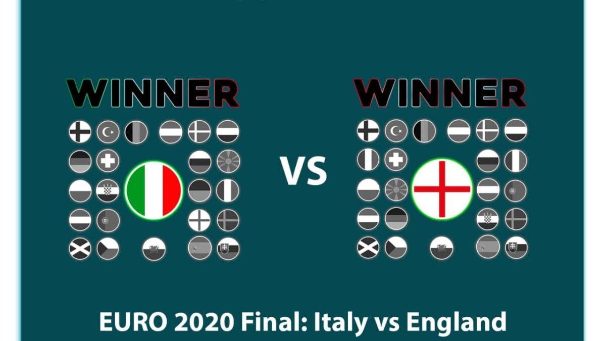 EURO 2020 Final: Italy vs England | Who will Win It?