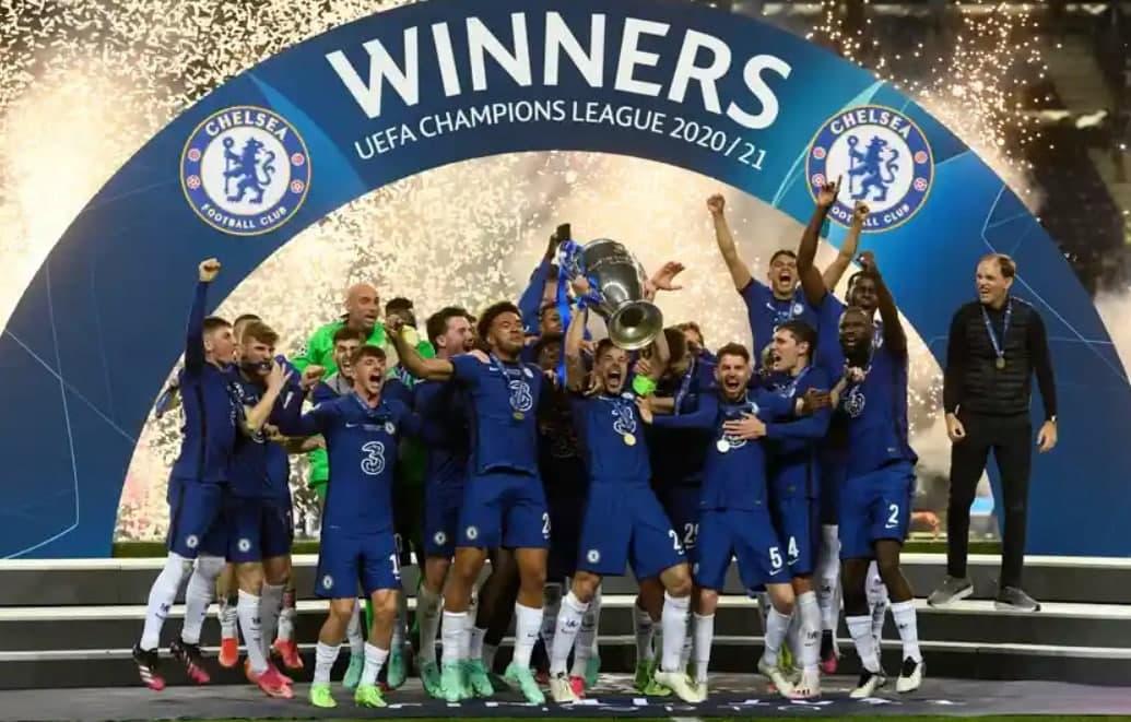Chelsea Champions League 2020-2021 Winner