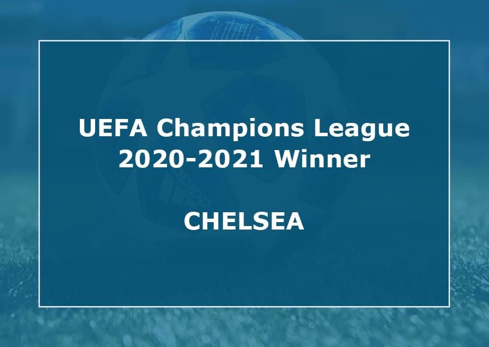 Chelsea Champions League Winner